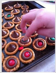 Need to make these with grey and red m&m's for OHio State games
