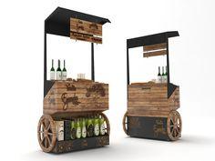 POP Kiosk Design, Cafe Design, Stand Design, Booth Design, Pop Display, Interior Sketch, Advertising Design, Restaurant Design, Jars
