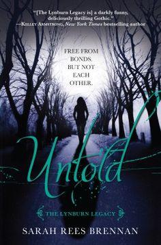 untold sarah rees brennan review  - young adult fantasy book