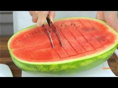 Cut Watermelon: This is The Most Epic Way To Cut Watermelon