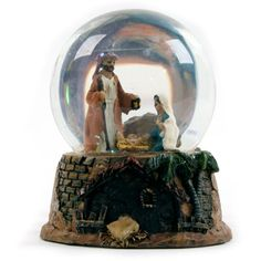 Nativity Snow Globes | Christmas Nativity Water Snow Globe Decoration 3 Design | eBay