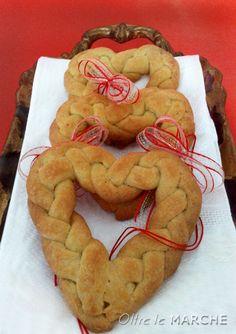 grissini a forma di cuore san valentino, ricetta