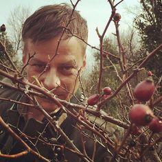 Beautiful photo of Tom Wlaschiha in Croatia! @tomwlaschiha IG  …ein Männlein steht im Walde …la la lala #escapetothesea #bijegdomora #istria #croatia #tomwlaschiha