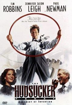 The Hudsucker Proxy , starring Tim Robbins, Paul Newman, Jennifer Jason Leigh, Charles Durning. A naive business graduate is installed as president of a manufacturing company as part of a stock scam. Paul Newman, Top Movies, Great Movies, Movies To Watch, Awesome Movies, Iconic Movies, Brothers Movie, Coen Brothers, Bruce Campbell