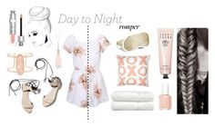 """""""Casual Romper"""" by xvictoriaxfrenchiex on Polyvore featuring Linum Home Textiles, Essie, Bobbi Brown Cosmetics, Iluminage, 3.1 Phillip Lim, Kendra Scott, Oasis, Christian Dior, DayToNight and romper"""