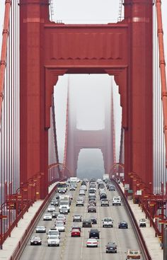Amazing shot of the Golden Gate bridge.