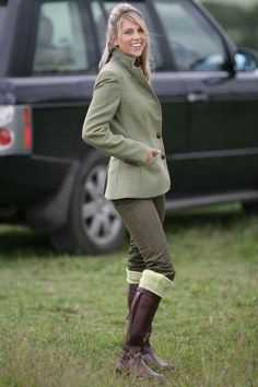 Tweed. Here in Britain, we do tweed better than anywhere else can.