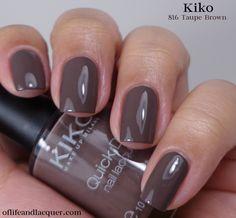 Kiko :  816 Taupe Brown