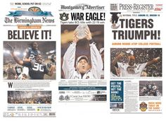 Auburn University 2010 BCS National Championship... and I was there to witness it!