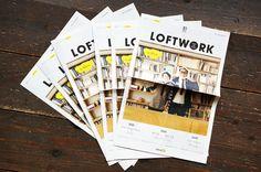 フリーペーパー『季刊 LOFTWORK』創刊! |2014 |ニュース |株式会社ロフトワーク