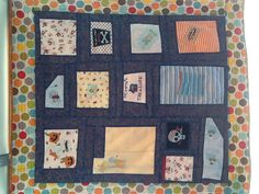 A memory quilt  for my daughter in law.
