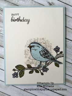 Tonight was one of my favorite nights of the month, Kim's Card Class. I love getting to see so many of my stamping friends all in one place. I did forget to take people pictures (again) but I do have an awesome card to share with you that we made...