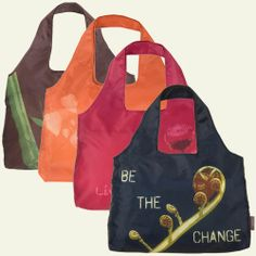 ChicoBag Nature Collection reusable shopping bags are stylish in both form & function. Beautiful prints, with long handles for easy toting. Stuffs into an integrated pouch so you can store it in your purse or pocket!