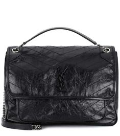 d980a3a71114 Large Niki leather shoulder bag | Saint Laurent Calf Leather, Leather  Shoulder Bag, Shoulder