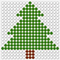Arbol Navidad for strijkkralen kerst Xmas Cross Stitch, Cross Stitching, Christmas Sewing, Christmas Cross, Cross Stitch Pattern Maker, Cross Stitch Patterns, Cute Christmas Decorations, Peler Beads, Perler Patterns