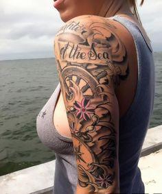 50 Awesome Nautical Tattoo Design and Ideas
