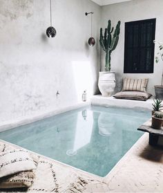 ultimate pool situation #thebeachpeople #pool #interior #exterior #relaxing #interiorstyle #design #architecture #cactus #travel