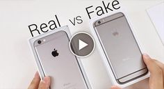 How to spot a fake iPhone ?