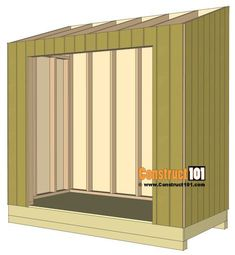 Build a shed on a weekend - Plans - - Lean to shed plans, siding. Build a Shed on a Weekend - Our plans include complete step-by-step details. If you are a first time builder trying to figure out how to build a shed, you are in the right place! Lean To Shed Plans, Wood Shed Plans, Cabin Plans, Garage Plans, Deck Building Plans, Building A Shed, Deck Plans, Building Design, Building Ideas