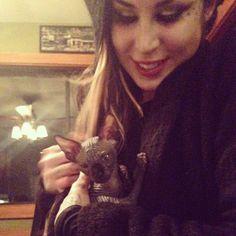 Meeting the new 'lil lady!!! [January 11th, 2014 via Tony]