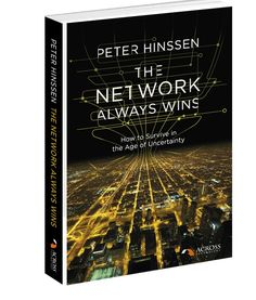 In The Network Always Wins (expected release date: second half of 2014), Peter Hinssen explores the enormous opportunities in our completely networked world.