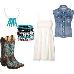 Country Girl Style : Blue   Denim