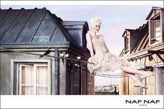 """""""Rêveries sur les toits de Paris..."""", Agence Gaultier Collette pour NAF NAF, été 2011"""