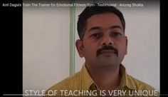 """ UNIQUE STYLE OF TRAINING ! ! ""   Testimonials Anil Dagia's Train The Trainer for EMOTIONAL FITNESS GYM Pune ( India )  Anurag Shukla, IT Professional  http://www.anildagia.com/testimonials/423-anurag-shukla-anil-dagia-s-train-the-trainer-of-emotional-fitness-gym-pune-india  NLP Training from Anil Dagia  ICF NLP PRACTITIONER DUAL Certification Life Coach Training ( India )  OCT MUMBAI…"