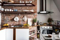 Red brick kitchen backsplash ideas - Viskas apie interjerą Backsplash Ideas, Kitchen Backsplash, Red Bricks, Table, House, Furniture, Home Decor, Decoration Home, Home