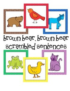 Brown Bear Silly Sentences $2.50