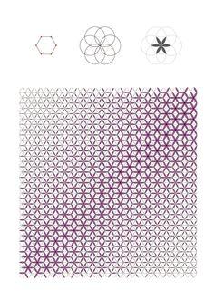 Hexagon-Circle Pattern - Grasshopper