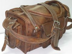 $99 camel leather travel bag