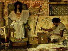 Lawrence Alma-Tadema, Joseph gardien des greniers