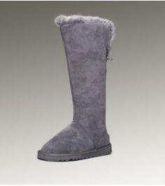 dd48fd585dc8 UGG Womens Fox Fur Tall Grey 5369 Online Clearance Funky Fashion