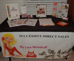 It's vendor season for direct sales companies!  Do you need help with your vendor table?  Here's my tips!