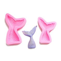 Buy Mermaid Tail Silicone Mold Fondant Cake Mold Cupcake Decorating Tools Kitchen Baking Gum Paste Chocolate Candy Molds at Wish - Shopping Made Fun Mermaid Diy, Mermaid Cakes, Fondant Molds, Cake Mold, Decorating Tools, Cake Decorating, Silicone Mermaid Tails, Ice Cake, Chocolate Candy Molds