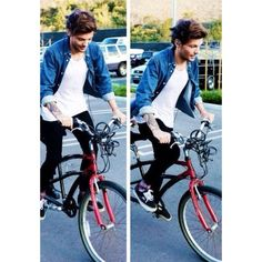 Riding Bikes At The Park With Luke Hemmings One Direction