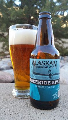 BrewChief.com Review of Freeride APA (Alaskan Brewing Co.) : America's craft beer movement has accomplished many crazy things. It introduced American palates to exciting new flavors, from hop laden IPAs to sweet malty Brown Ales. It amplified beer strengths to unseen levels, which saw Imperial IPAs and Barleywines become common menu items. Perhaps most important, and seldom discussed, is the launching of the Pale Ale into mainstream beer culture. ''Give me a beer'' once meant a bland sudsy…