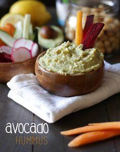 Hummus de abacate   Avocado Hummus - Made by Choices