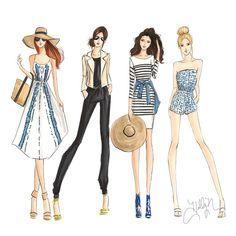 Aca les dejo unos estilos muy fashion y originales.