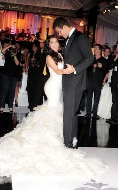 as much as this marriage was a shambles this dress was everything kim kardashian