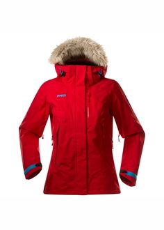 Bergans of Norway Nordkapp Lady jacket Red Ski Jacket c142e2de6