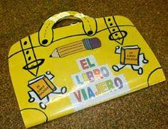 Mi Sala Amarilla: El libro viajero.Ideas para realizarlo.