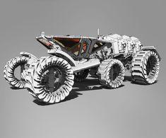 ArtStation - Mars Rover , Roberto Robert
