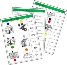Lezen: VLL / VIS: Pico Piccolo Primo/Rondo: Kaarten kern 4 Dutch Language, Spelling, Circuit, Classroom, Map, School, Class Room, Location Map, Peta