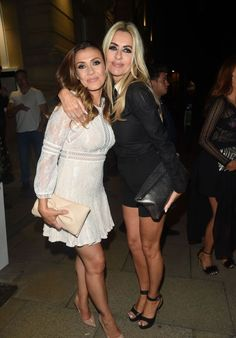Kym Marsh and Dawn Ward at Rosso Restaurant and Menagerie in Manchester Dawn Ward, Kym Marsh Style, Outfits, Clothes and Latest Photos. Dawn Ward, Kym Marsh, Latest Outfits, Beautiful Celebrities, Unique Fashion, Fashion Photo, Manchester, Sexy Women, Formal Dresses