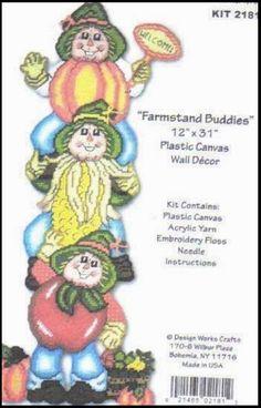 FARMSTAND BUDDIES WALL DECOR by DESIGN WORKS CRAFTS 1/8