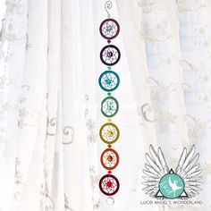 Chakra dream catcher chain  Price: & FREE Shipping   #lucidangelswonderland