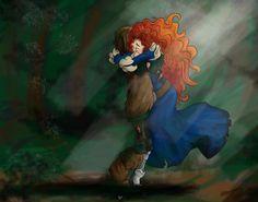 (Fan art) Merida, Rapunzel, Jack et Hiccup - The Big Four - Page 2