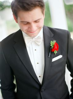 Formal White Tie #Groom | See the wedding on SMP - http://www.StyleMePretty.com/2013/11/26/kansas-city-wedding-from-emily-steffen/ Emily Steffen Photography